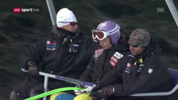 Video «Ski alpin: Keine Rennen auf der Lenzerheide» abspielen