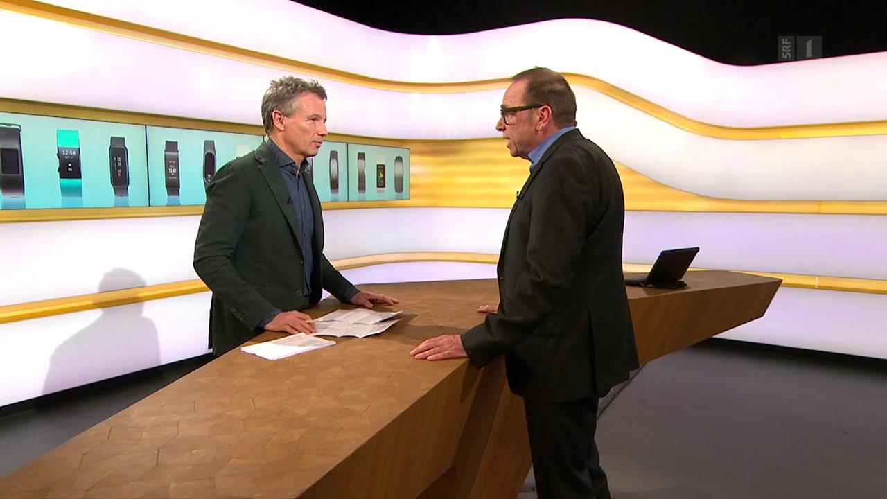 Studiogespräch mit Bruno Baeriswyl, Datenschutzbeauftragter Kanton Zürich