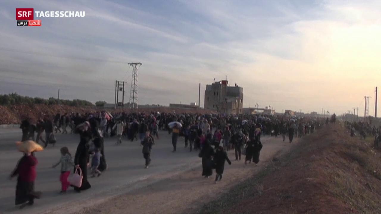 Exodus aus Aleppo