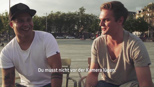 Video «Flüeler befragt Pestoni auf dem Sechseläutenplatz» abspielen