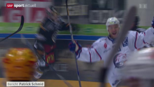 Video «Eishockey: NLA, 11. Runde, Lugano - ZSC» abspielen