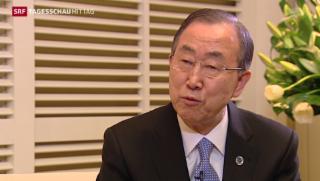 Video «Ban Ki-Moon mahnt zur Ruhe» abspielen