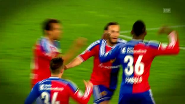 Video «Fussball: Der Weg des FC Basel in den Cupfinal» abspielen