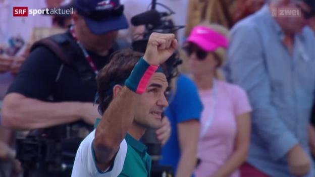 Video «Tennis: US Open, Federer - Kohlschreiber» abspielen