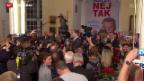 Video «Dänemark will keine europaweite Sicherheitspolitik» abspielen