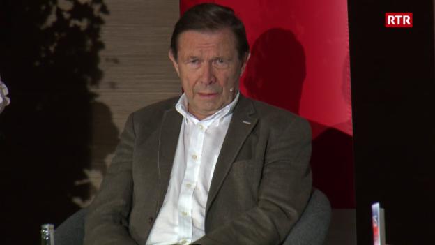 Laschar ir video «Discurs cun Franz Steinegger»