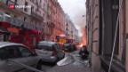 Video «Heftige Explosion im Zentrum vom Paris» abspielen