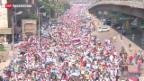 Video «Ägyptens Muslimbrüder protestieren weiter» abspielen