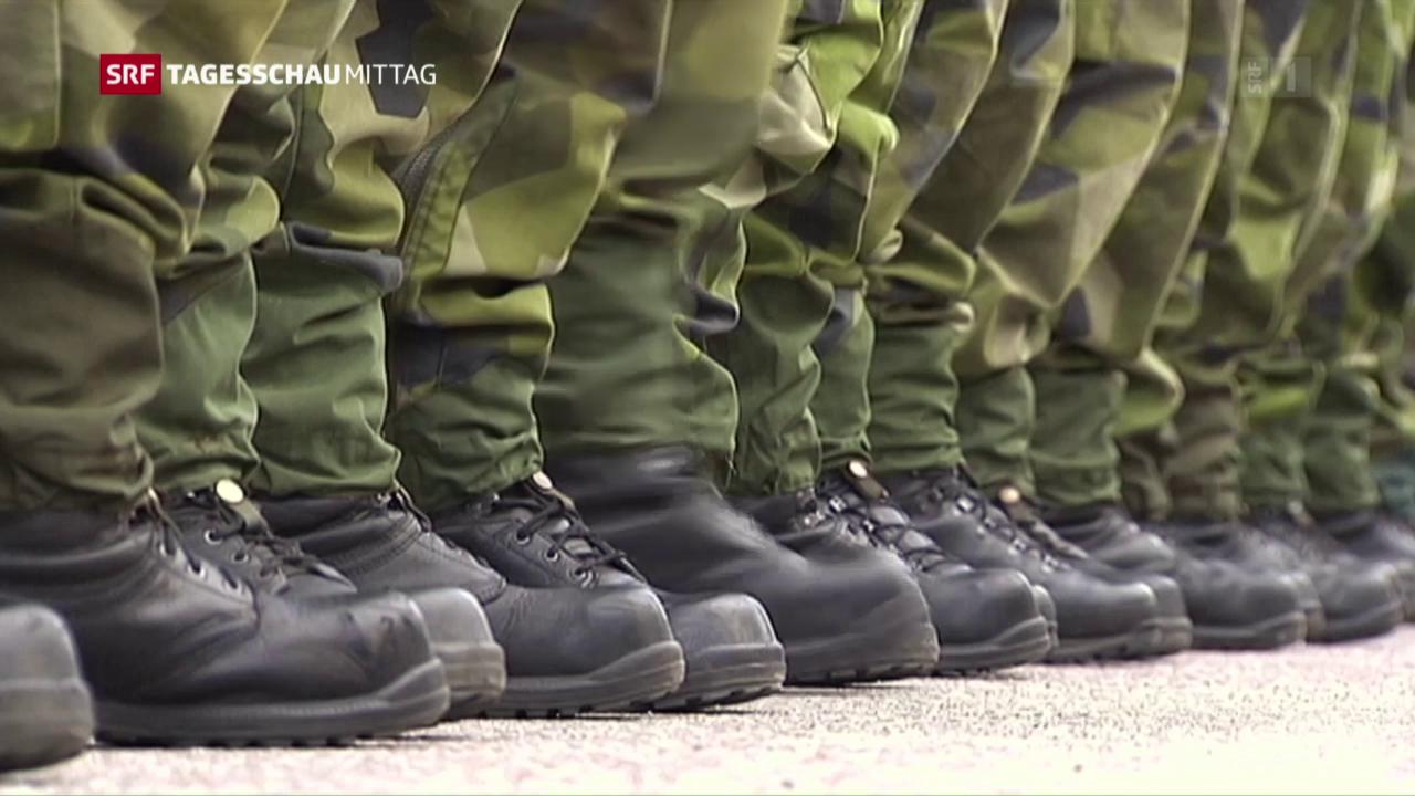 Schweden kehrt zur Wehrpflicht zurück