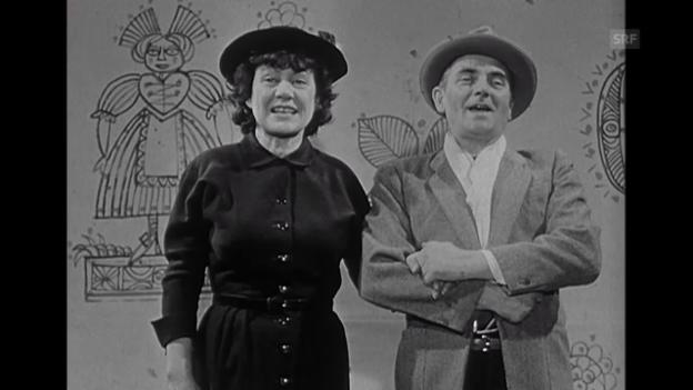 Video ««Kabarettisten-Portrait« vom 7.3.1964» abspielen