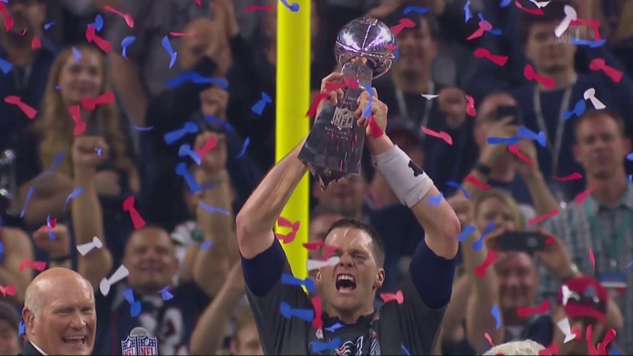 Superbowl mit Tom Brady und Lady Gaga