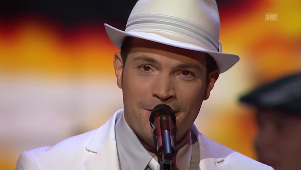 Roger Cicero am «Eurovison Song Contest» 2007