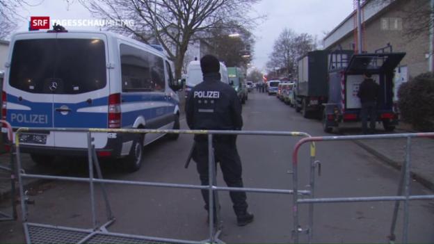 Video «Razzia wegen Terrorverdacht» abspielen