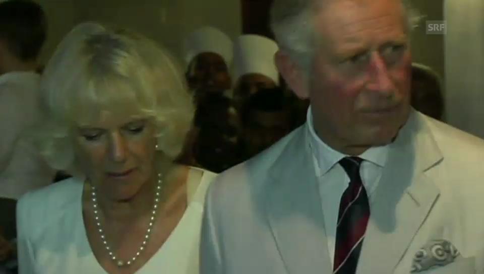 Prinz Charles feiert in Sri Lanka