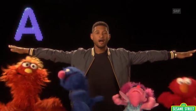 Video «Das ABC mit Usher macht mehr Spass» abspielen