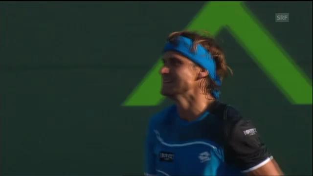 ATP Miami: Highlights Ferrer - Melzer (unkommentiert)