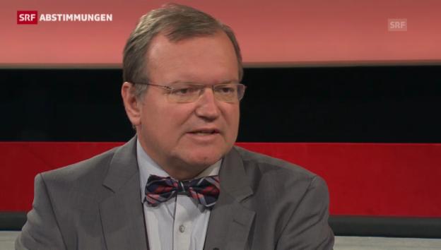 Video «Claude Longchamps' Analyse der Wehrpflicht-Initiative» abspielen