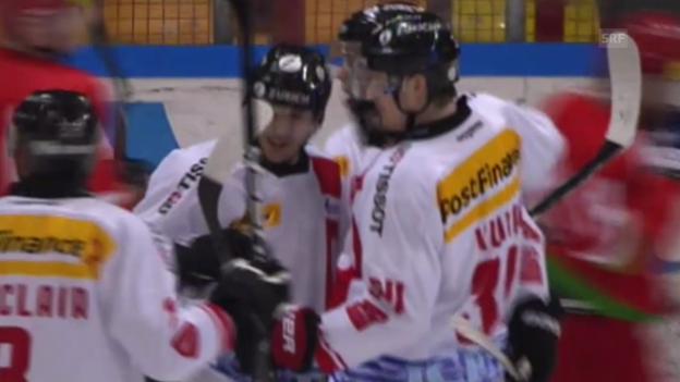 Video «Eishockey: Testspiel, Weissrussland - Schweiz (ohne Kommentar)» abspielen
