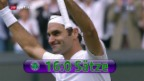 Video «Federers Weg in den Wimbledon-Final» abspielen