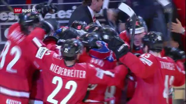 Video «Höhepunkte Schweiz - USA («sportlive»)» abspielen