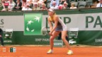 Video «Tennis: French Open, Asarenka - Scharapowa» abspielen