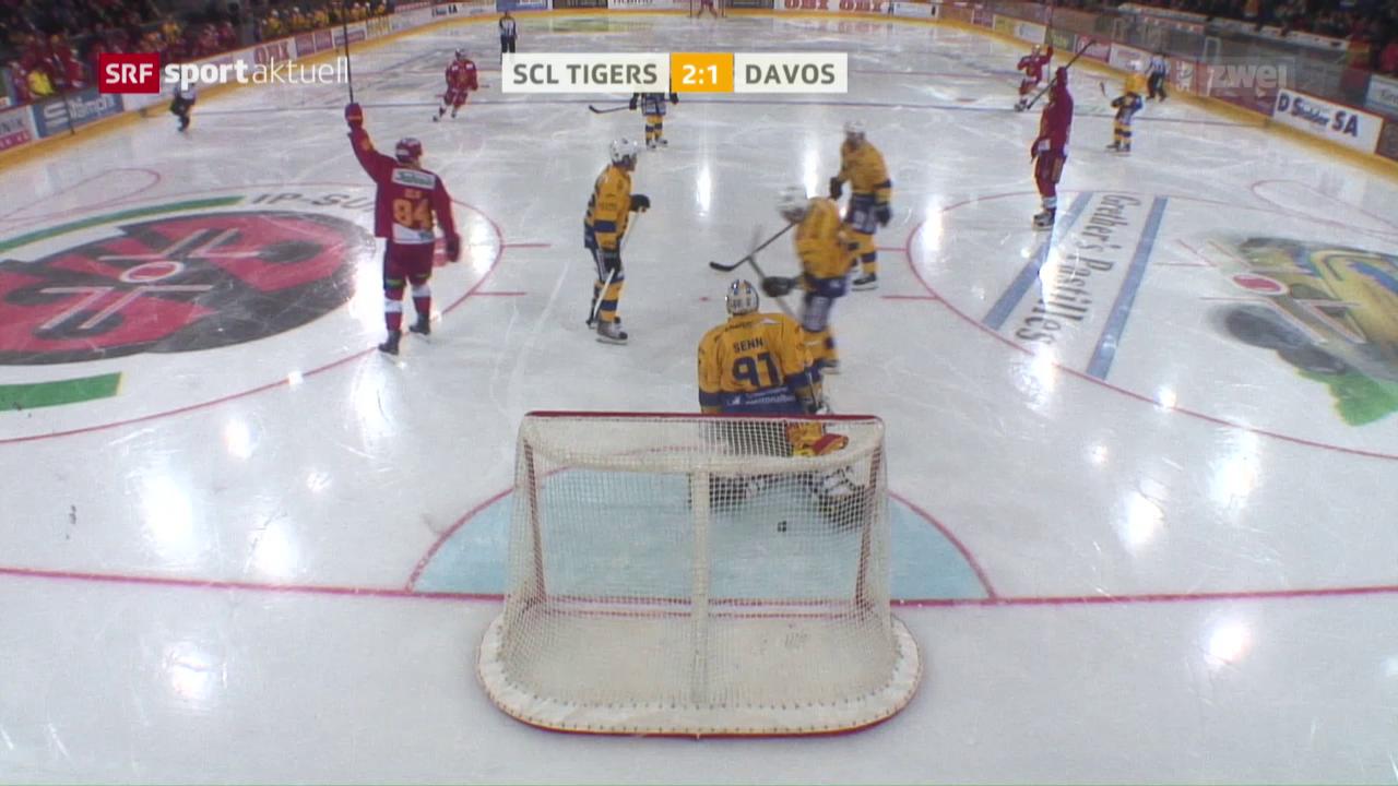 SCL Tigers weisen Davos in die Schranken