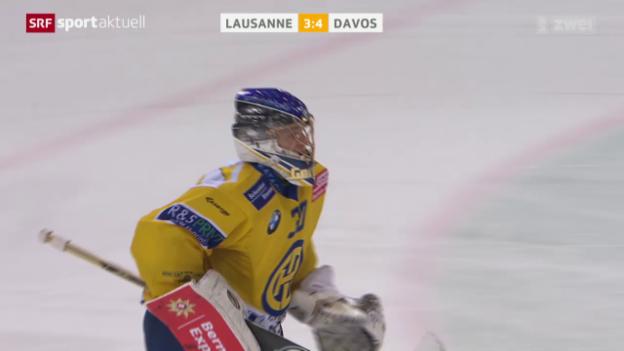 Video «HCD setzt sich bei Lausanne durch» abspielen