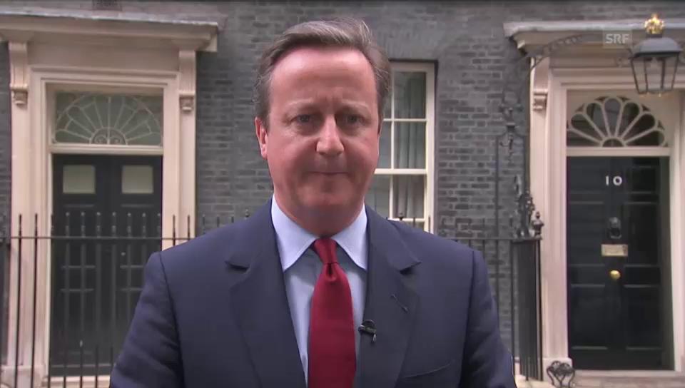 David Camerons Summ-Einlage