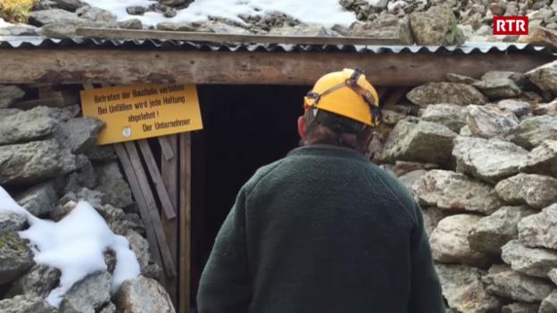 Laschar ir video «Las minieras sin l'alp Taspegn»