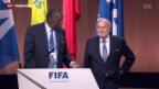 Video «Fifa-Präsident Blatter offenbar suspendiert» abspielen