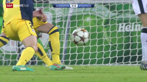 Video «Fussball: Zusammenfassung Juventus - Atletico Madrid» abspielen