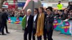 Video «Rolling Stones eröffnen Ausstellung» abspielen