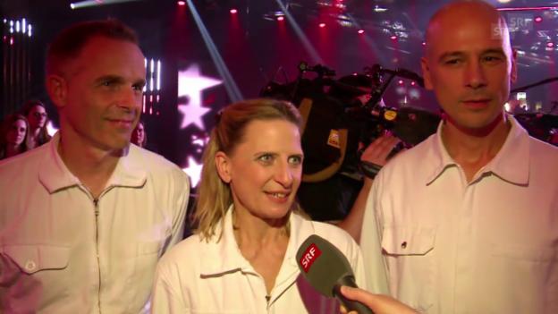 Video «Coloro über ihre Finalqualifikation» abspielen