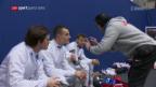 Video «Schweizer Fechter scheitern im Viertelfinal» abspielen