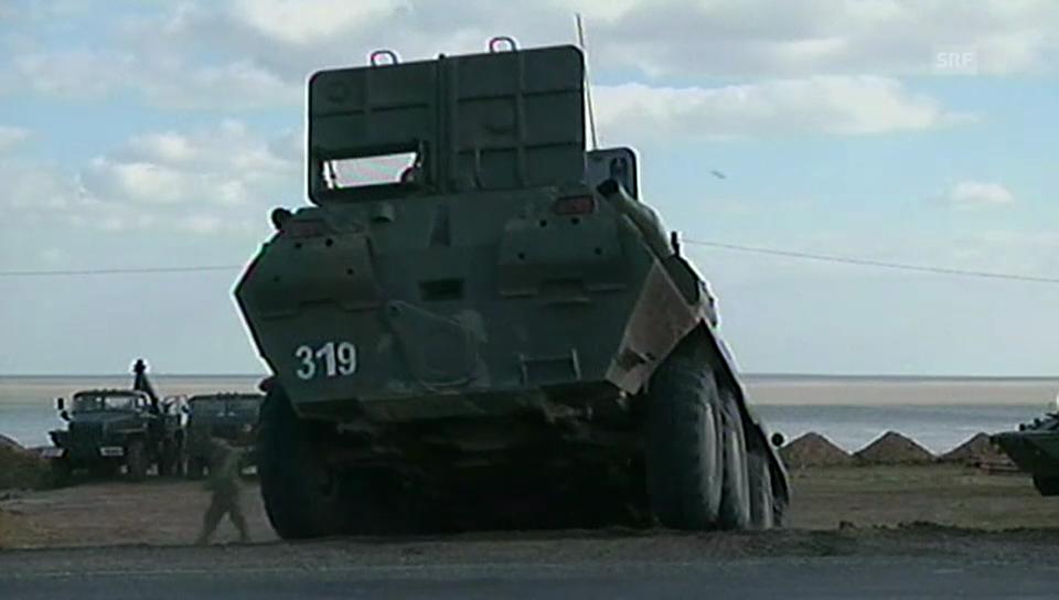 Ukraine verschiebt Truppen an die russische Grenze