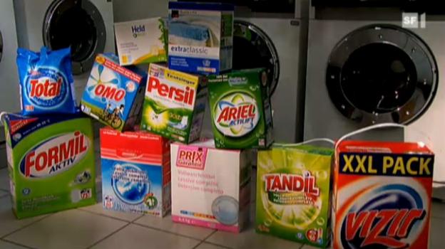 Video «Vollwaschmittel: Waschen teure besser?» abspielen
