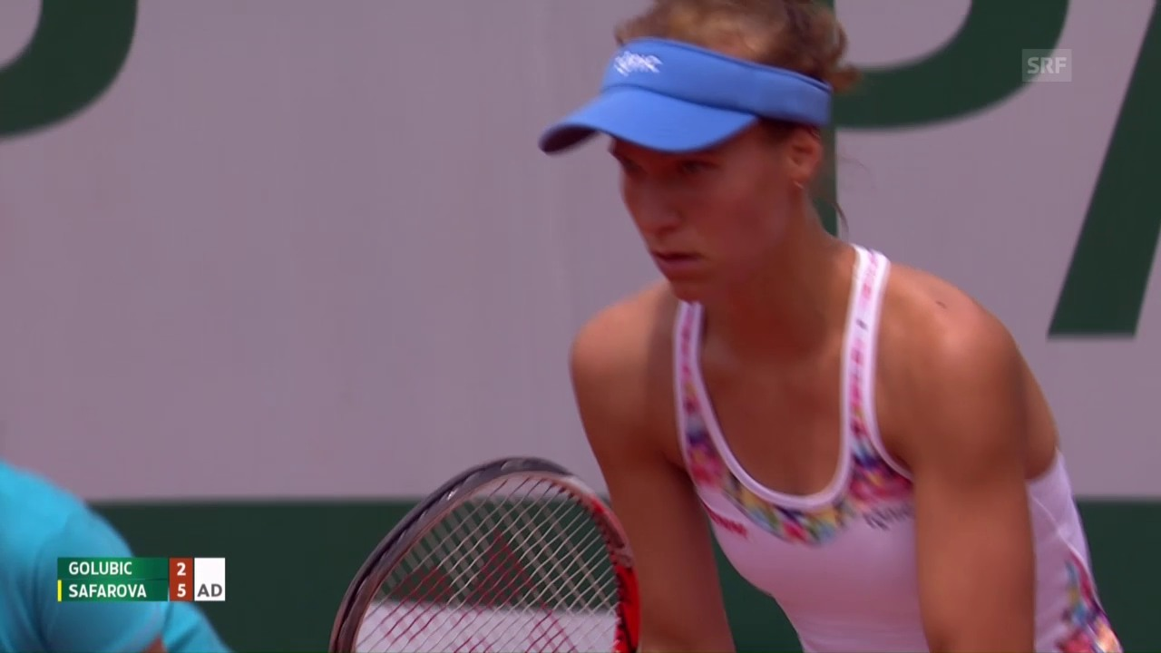 Golubic unterliegt Safarova