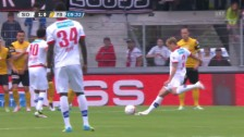 Video «Zieglers Freistoss-Treffer zum 1:0» abspielen