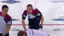 Video «Schweizer Curler unterliegen Dänemark» abspielen