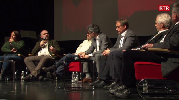 """Laschar ir video «Discussiun da podium """"Jäger als Gejagte in der modernen Gesellschaft""""»"""