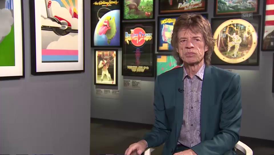 Mick Jagger über die Stones-Ausstellung