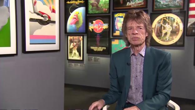 Video «Mick Jagger über die Stones-Ausstellung» abspielen