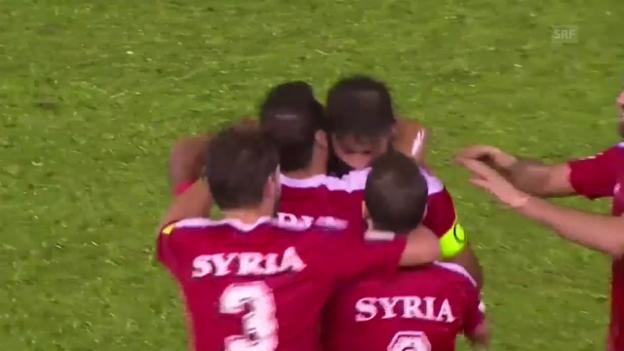 Video «Die Tore bei Syrien - China» abspielen
