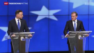 Video «Zwei Polen, zwei Visionen, eine Debatte» abspielen