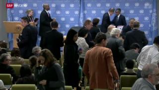Video «Iran: Umstrittene Einladung zur Friedenskonferenz» abspielen