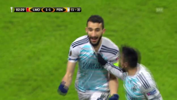 Video «Lokomotive Moskau - Fenerbahce Istanbul» abspielen
