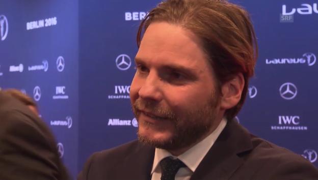 Video «Daniel Brühl über seinen Schuh-Fauxpas» abspielen