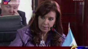 Video «Argentinien bald zahlungsunfähig?» abspielen