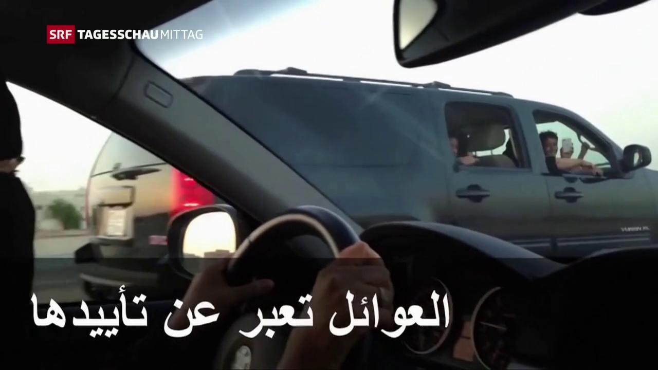 Saudische Frauen am Steuer