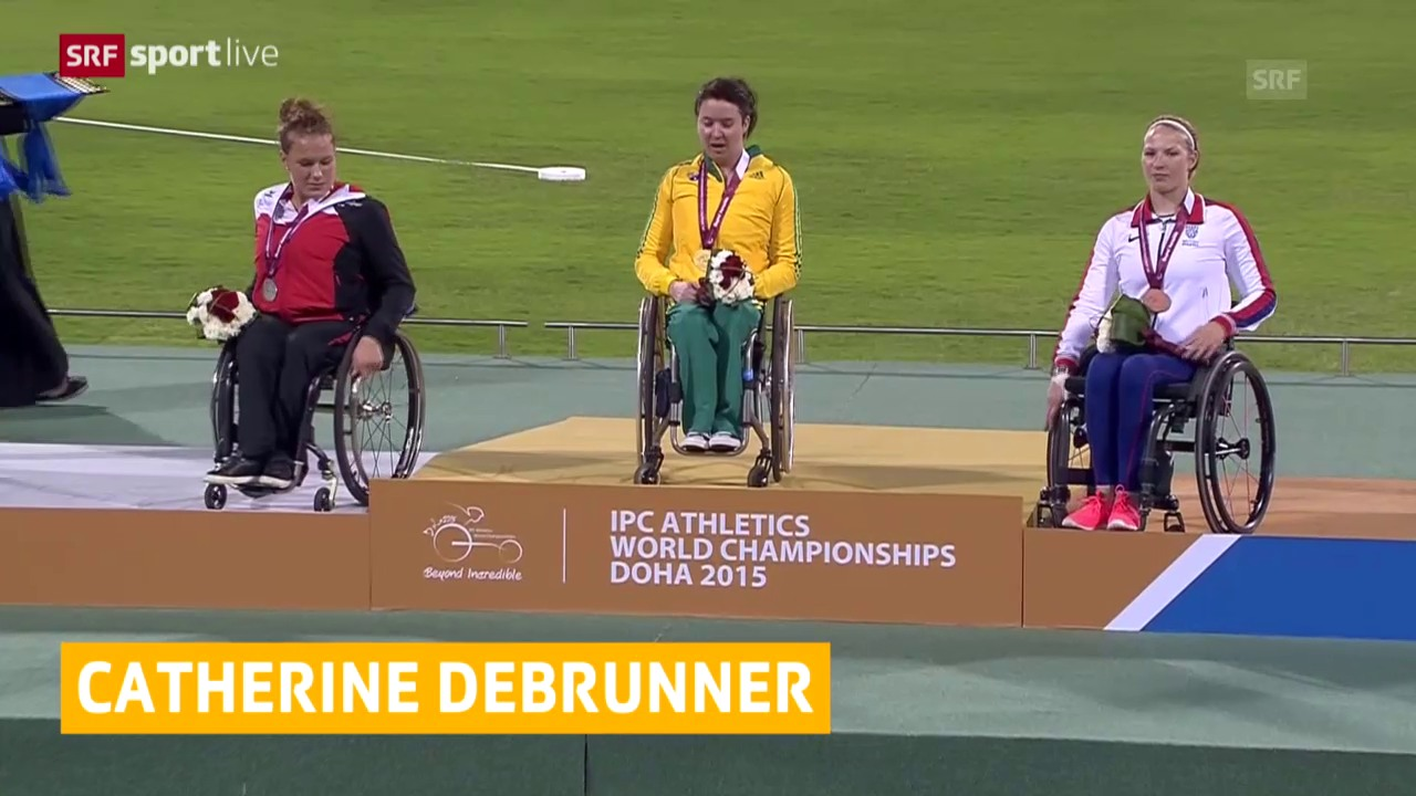 Paralympische LA-WM: Catherine Debrunner holt Silber über 200 m
